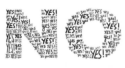 No Is A Yes