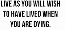 Dying You Will Live